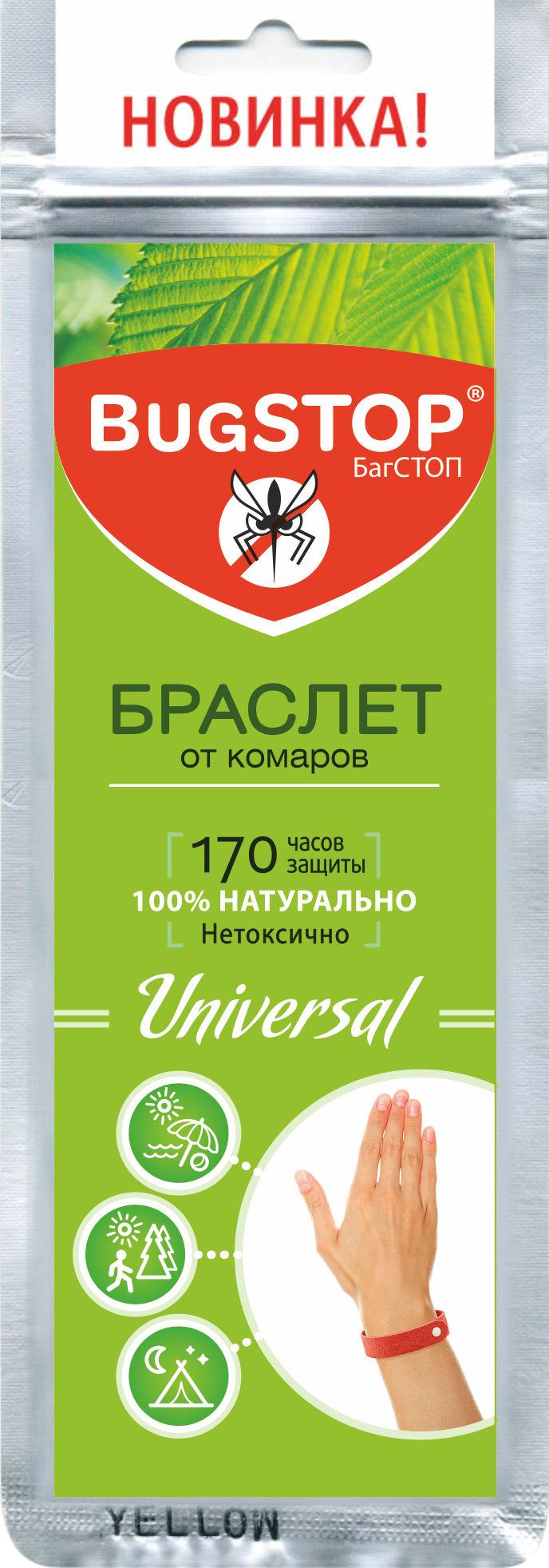 Браслет bugstop universal от комаров